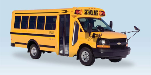 Blue Bird: Micro Bird by Girardin - School Bus