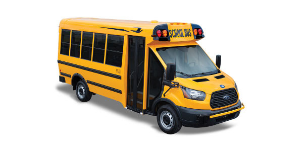 Blue Bird: Micro Bird by Girardin T-Series – School Bus