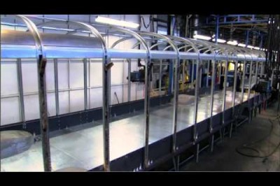 How A Blue Bird Bus Is Made